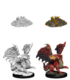 Figura D&D Red Dragon Wyrmling