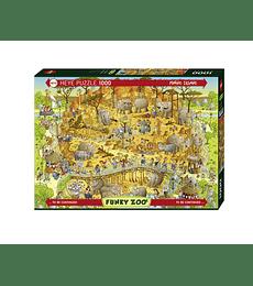 Puzzle 1000 Pcs - Habitat Africano Heye
