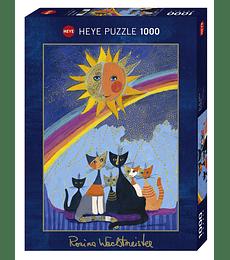 Puzzle 1000 Pcs - Lluvia Dorada Heye