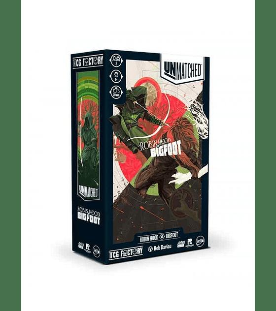 Preventa - Unmatched: Robin Hood v/s Bigfoot