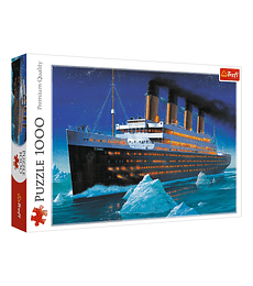 Puzzle Trefl 1000 Pcs - Titanic
