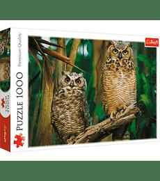 Puzzle Trefl 1000 Pcs - Owls