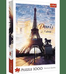 Puzzle Trefl 1000 Pcs - Paris al Amanecer
