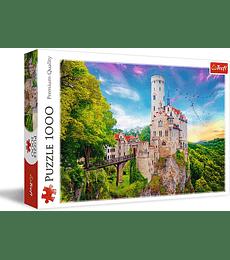 Puzzle Trefl 1000 Pcs - Lichtenstein Castle, Germany
