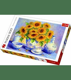 Puzzle Trefl 500 Pcs - Sunflowers