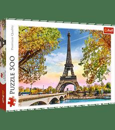 Puzzle Trefl 500 Pcs - Paris Romantico