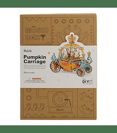 Pumpkin Carriage - Music Box