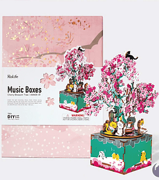 Cherry Blossom Tree - Music Boxes