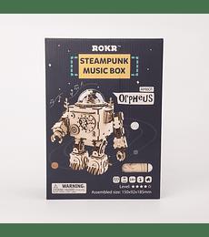 Orpheus Steampunk Music Box - Rokr
