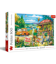 Puzzle Trefl 500 Pcs - Morning in the Countryside