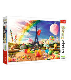 Puzzle Trefl 1000 Pcs - Sweet Paris