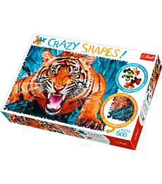Puzzle Trefl 600 Pcs - Facing a Tiger