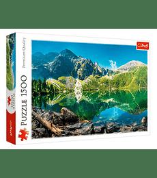Puzzle Trefl 1500 Pcs - Morskie Oko Lake, Tatras, Poland