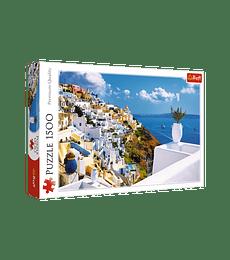 Puzzle Trefl 1500 Pcs - Santorini, Greece