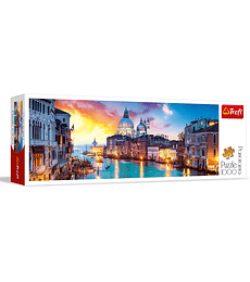 Puzzle Trefl 1000 Pcs - Canal Grande, Venice