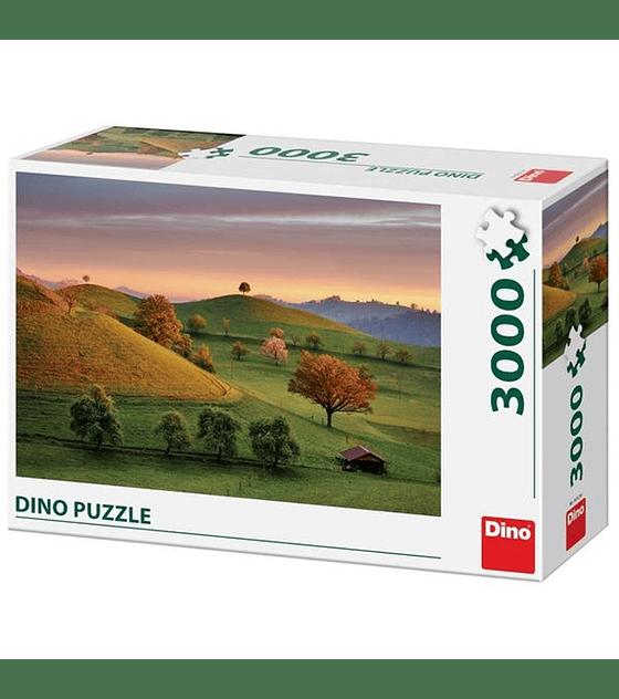 Puzzle 3000 Pcs - Fabulous Sunrise - Dino
