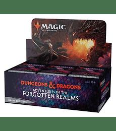 Preventa - Aventuras en los Reinos Olvidados Draft Booster Box (Español)