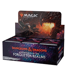 Preventa -  Adventures in the Forgotten Realms Draft Booster Box (Inglés)
