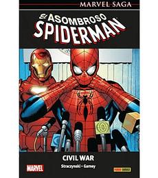 Marvel Saga: El Asombroso Spiderman Civil War