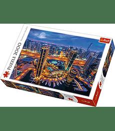 Puzzle Trefl 2000 Pcs - Lights of Dubai