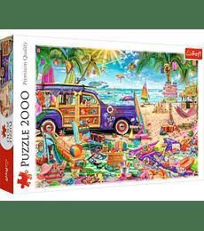 Puzzle Trefl 2000 Pcs - Tropical Holidays