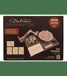 Da Vinci Drawmaton - The Gambler - Rokr