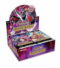 Yu-Gi-Oh! Caja de Sobres King's Court (Inglés)