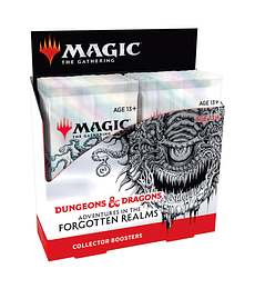 Magic D&D Adventures in the Forgotten Realms Collector Booster