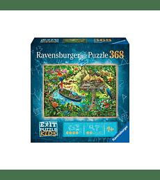 Puzzle 368 Piezas En la Expedición a la jungla - Ravensburger