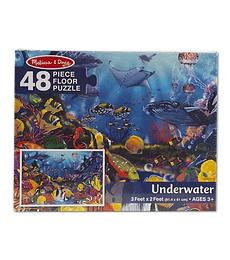 Puzzle de Piso Aguas submarinas 48 Piezas