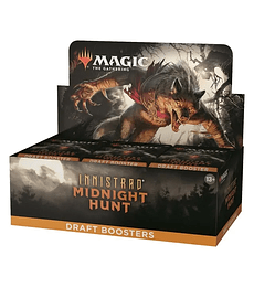 Preventa - Innistrad: Midnight Hunt Draft Booster Box (Ingles)