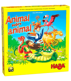 Preventa - Animal Sobre Animal: El Tambaleante Juego de Apilar