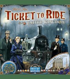 Ticket to Ride: United Kingdom y Pennsylvania