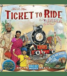 Ticket to Ride: India y Suiza