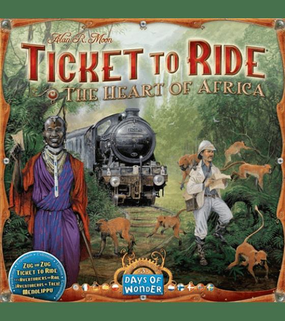 Ticket to Ride: El Corazón de Africa