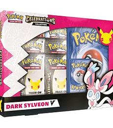 Preventa - Pokémon TCG: Celebrations Collections: Lance's Charizard V or Dark Sylveon V Español