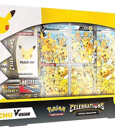 Preventa - Pokémon TCG: Celebrations Special Collection - Pikachu V-UNION INGLÉS