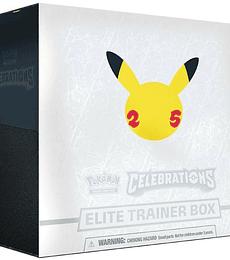 Preventa - Pokémon TCG: Celebrations Elite Trainer Box INGLÉS
