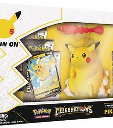 Preventa - Pokémon TCG: Celebrations Premium Figure Collection—Pikachu VMAX ESPAÑOL