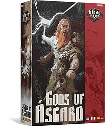 Preventa - Blood Rage expansion: Dioses de Asgard