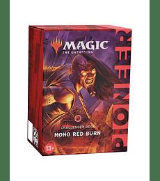 MTG Mazo Pioneer Challenger Deck 2021: Mono Red Burn