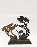 Escultura de acero