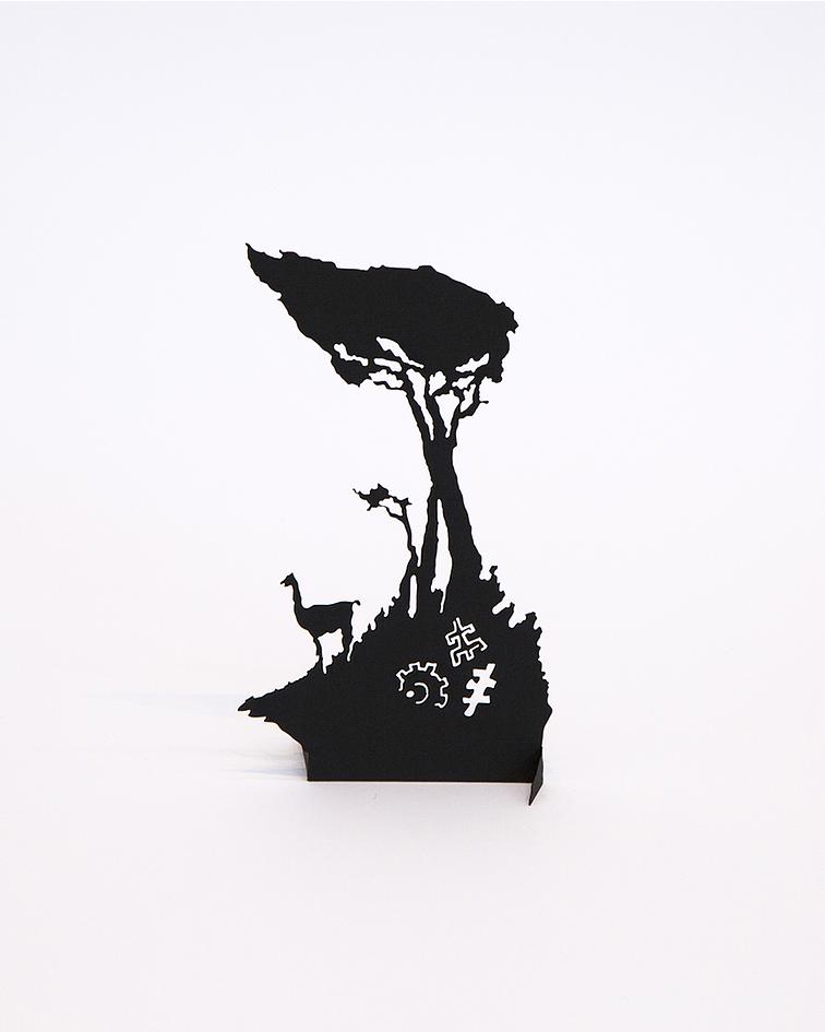 Escultura de Papel I