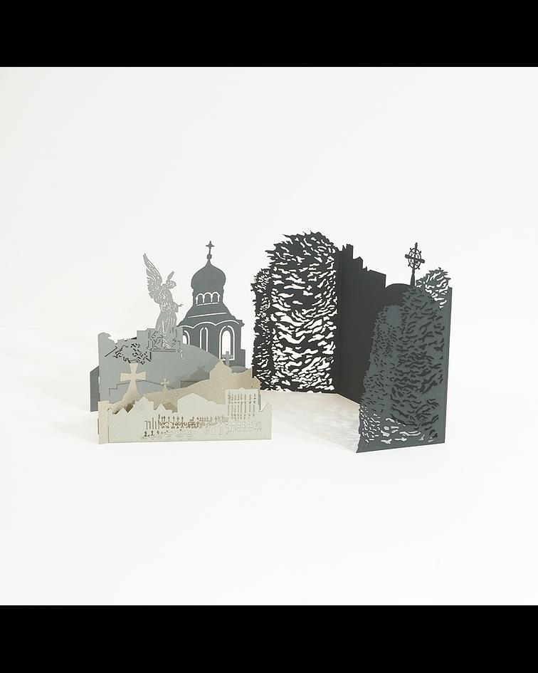 Paisaje Desplegable: Cementerio de Punta Arenas