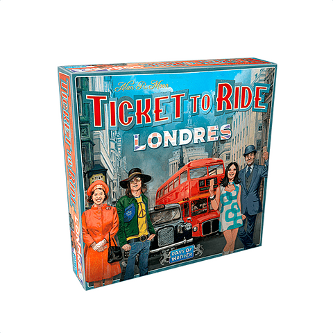 Aventureros del Tren: Londres
