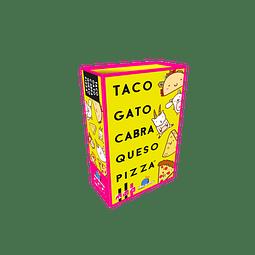 Taco Gato Cabra Queso Pizza