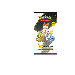 Pokemon: First Partner Pack ( Galar) 25º Aniversario
