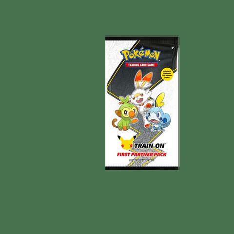 Pokemon: First Partner Pack ( Galar ) 25º Aniversario