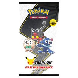 Pokemon: First Partner Pack ( Alola) 25º Aniversario