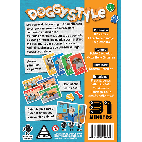 Preventa: Doggy Style - 31 Minutos